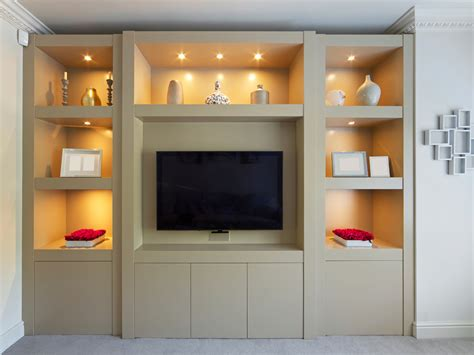 contemporary built in cabinets smooth modern built in display cabinet bespoke furniture