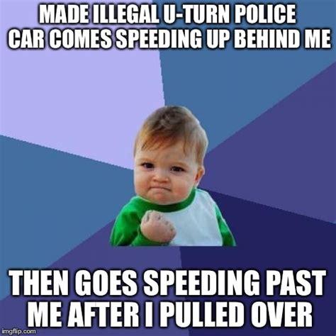 Speeding Meme - success kid meme imgflip