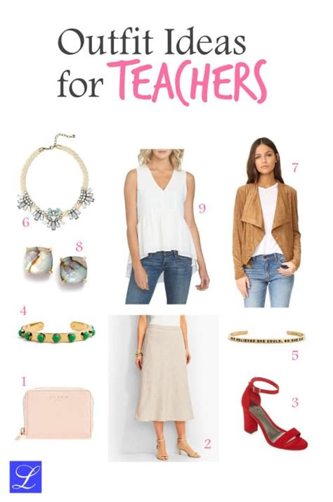 4 Cool and Casual School Outfits for Female Teachers - ufe0f Metropolitan Girls ufe0f