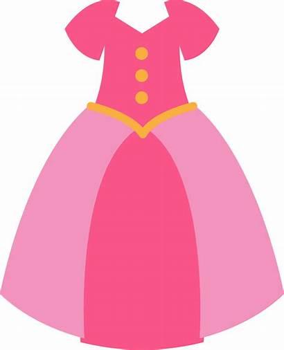 Princess Clipart Pink Clip Clothes Clothing Transparent