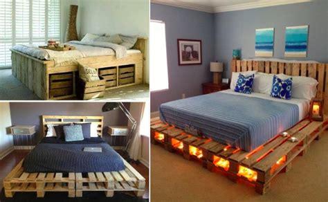 chambre palette bois 30 idées de lits en palette pour votre chambre page 3