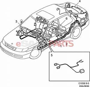 4946620  Saab Cable Harness