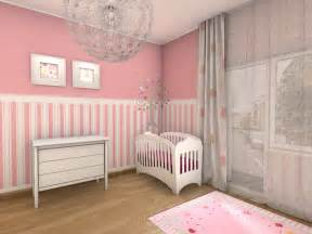 Rideaux Pale Bebe by Chambre B 233 B 233 Fille En Gris Et Rose 27 Belles Id 233 Es 224