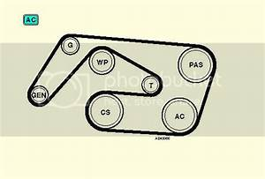 Mercedes 2001 C220 Belt Diagram
