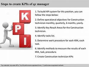 Objectives For Administrative Assistant Qc Manager Kpi