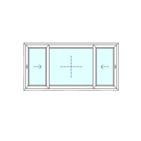 panel sliding sfs window fenestram corp