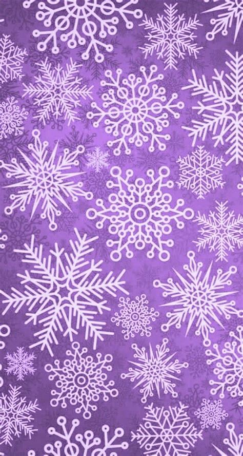 Purple Pastel Snowflake Background by Snowflakes Purple Inspiration Wallpaper