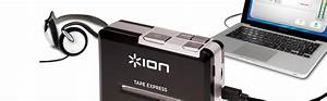 Ion Audio Tape Express Tape To Mp3 Converter  Amazon Co Uk