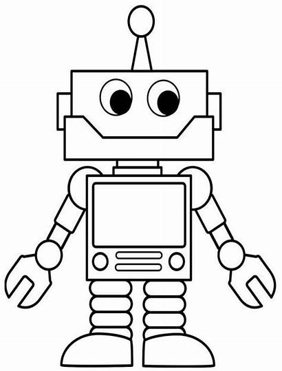 Robot Coloring Technology Adults Robots