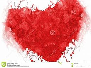 Grunge Red Heart Stock Photography - Image: 34204992