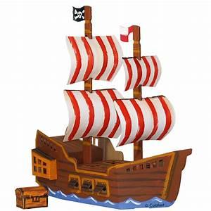 Schiff Basteln Holz : gro es piratenschiff zum basteln und spielen aus pappe zambomba ~ Frokenaadalensverden.com Haus und Dekorationen