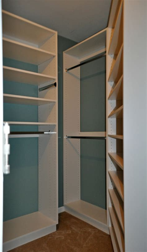 what color is best for a custom closet organizer closet