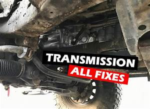 3rd Gen Tacoma Problems  Transmission Fixes