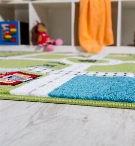 Tapis Enfant Route : tapis pour enfants tapis de jeu ville port tapis route ~ Teatrodelosmanantiales.com Idées de Décoration