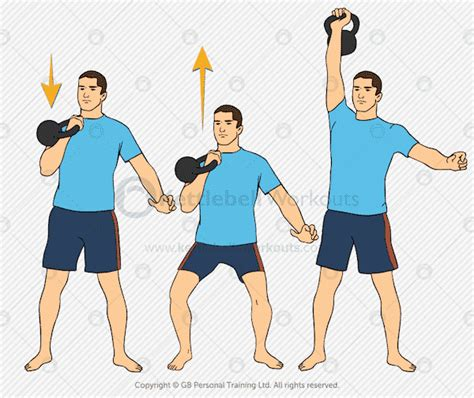 kettlebell push press exercises exercise