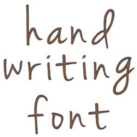 Hand Writing By Windmill Designs Home Format Fonts On
