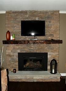 rustic yet refined barn wood mantel contemporary With barnwood mantle