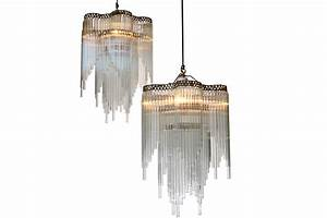 Chandeliers from the art deco period