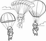 Parachute Coloring Fun Pages Coloringpagesfortoddlers Children Christmas Elementary Contest Door Favourite sketch template