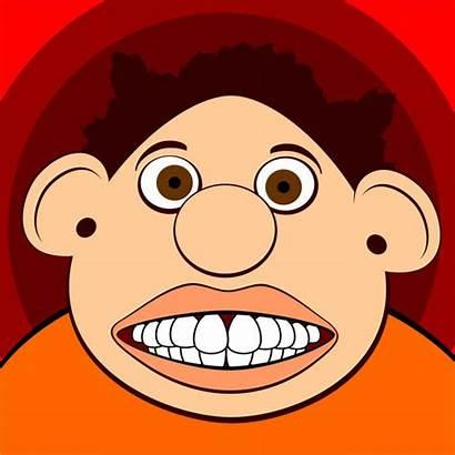 Face Clipart Funny Clip Faces Weird Cartoon