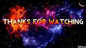 Thanks for watching by FluxxOG on DeviantArt