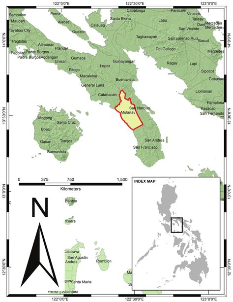 map  luzon island showing  geographic location