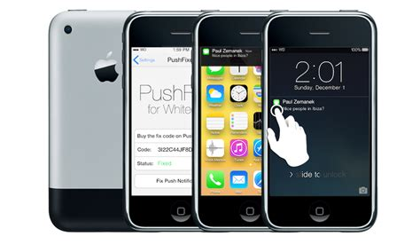iphone 3gs ios 7 whited00r 7 brings ios 7 s new look to devices