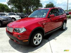 Bmw X3 2008 : crimson red 2008 bmw x3 exterior photo 49424314 ~ Medecine-chirurgie-esthetiques.com Avis de Voitures