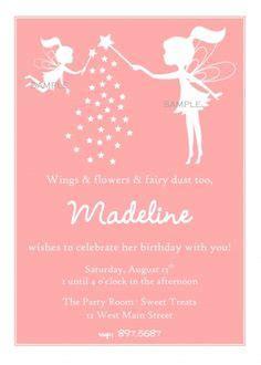 printable fairy invitations freeprintables