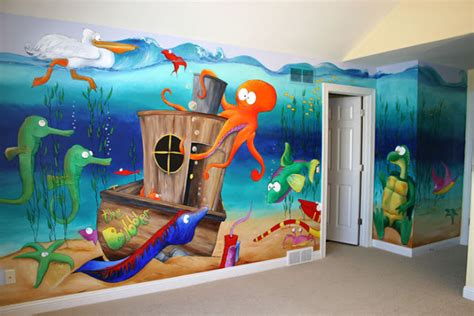 wall decal quotes wall mural ideas  kids   sea