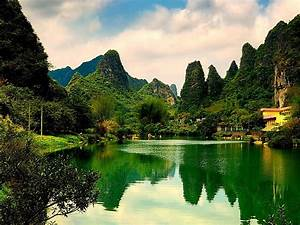 Nature, Green, Lake, Hd, Wallpaper, Wallpapers13, Com