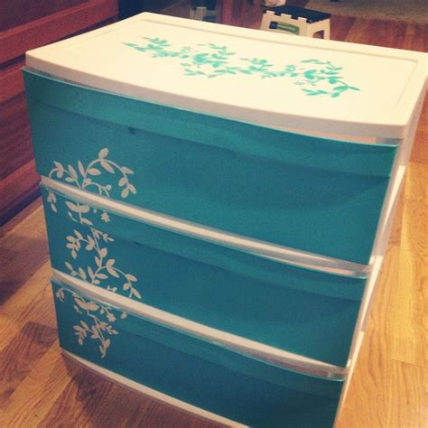 Plastic Dressers At Walmart by 1000 Id 233 Es Sur Le Th 232 Me Plastic Drawer Makeover Sur