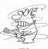 Fly Cartoon Annoying Guy Coloring Annoy Outline Pesky Leishman Clipart Royalty sketch template