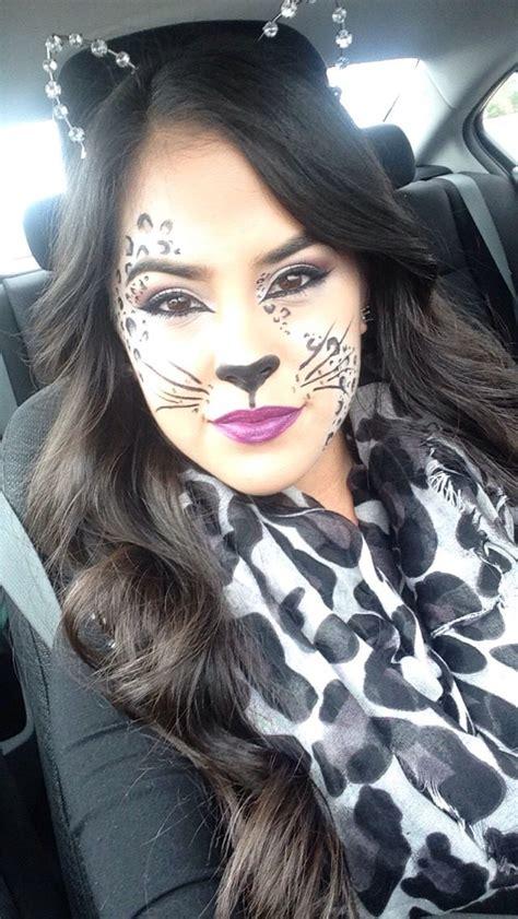 leopard make up snow leopard for make up