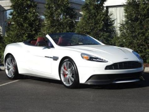 Purchase New 2014 Aston Martin Vanquish Volante Stratus