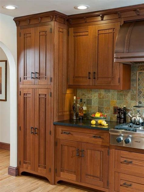 ideas  mission style kitchens  pinterest custom cabinets kitchen cabinet