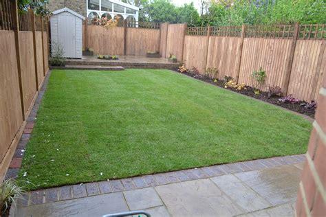 Back Garden Patio Designs by Back Gardens Acorns Landscapes