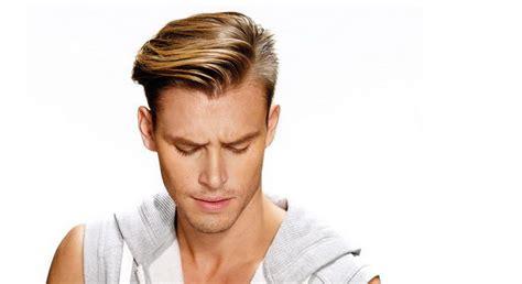 meche homme coiffure homme meche caramel
