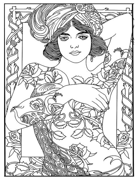 Tattoo Art : Tattoo Coloring Books For Adults Relaxation