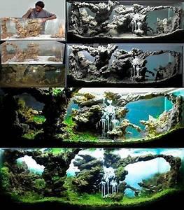 Idee Decoration Aquarium : d co pour votre aquarium 17 id es laissez vous inspirer cr ations pour animaux aquarium ~ Melissatoandfro.com Idées de Décoration