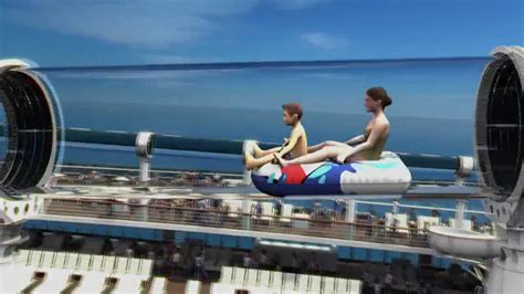 Disney Cruise Line AquaDuck Water Roller Coaster Slide - YouTube
