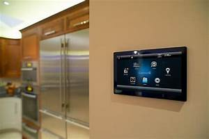 Smart Home Touch Screen Kitchen Orange County By