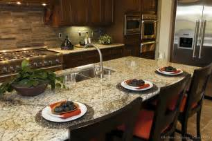 Kitchen Paint Colors To Match Cherry Cabinets by Pictures Of Kitchens Traditional Dark Wood Golden