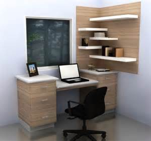 how to use a corner for a small ikea home office