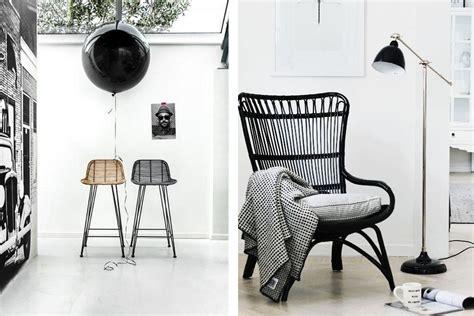 stoel riet zwart excellent rotan stoel in een interieur with rotan stoel zwart