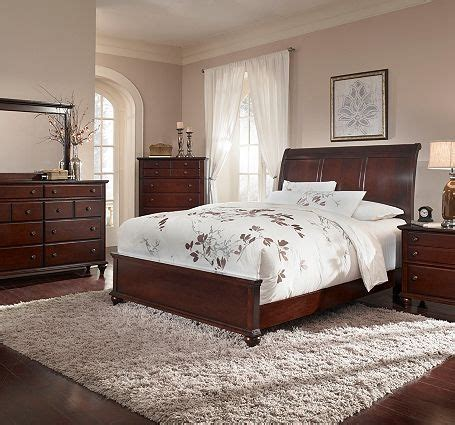 17 best ideas about cherry sleigh bed on cherry wood bedroom used bedroom furniture