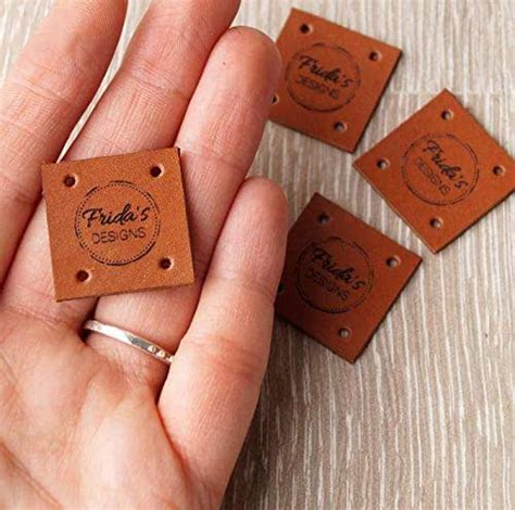 amazoncom custom leather sewing labels personalized
