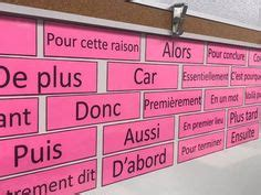 marqueurs de relation images french classroom
