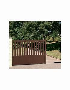 Portail En Aluminium : portail coulissant alu 4 m niort technal dimension ~ Melissatoandfro.com Idées de Décoration