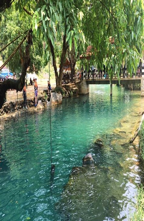 Complete Guide To The Blue Lagoon Vang Vieng Laos Blue